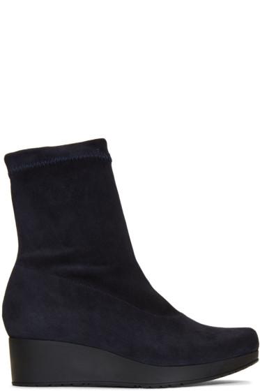 Robert Clergerie - Navy Nerdal Boots