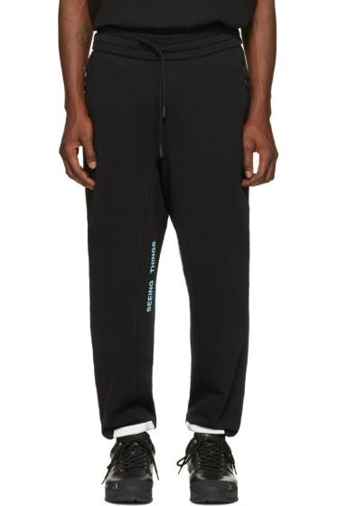Off-White - Black Diagonal Arrows Lounge Pants