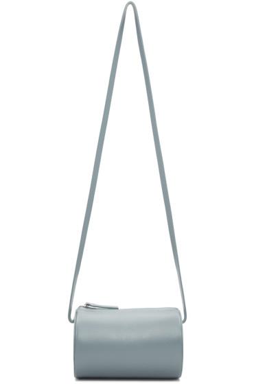 Building Block - SSENSE Exclusive Blue Cylinder Sling Bag