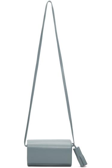 Building Block - SSENSE Exclusive Blue Petite Bag