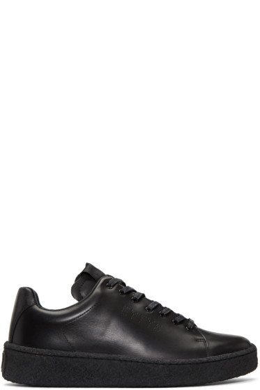 Eytys - Black Leather Ace Sneakers