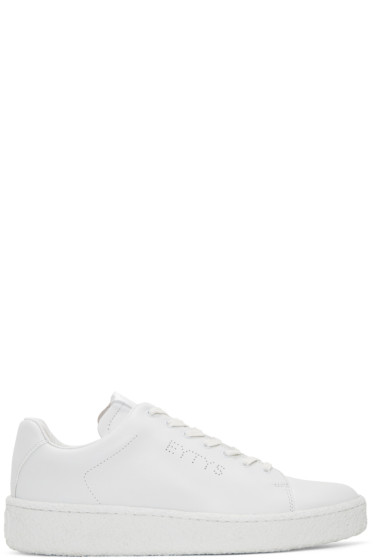 Eytys - White Leather Ace Sneakers