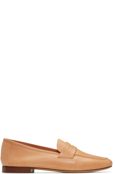 Mansur Gavriel - Tan Classic Loafers