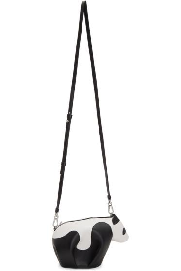 Loewe - Black & White Mini Panda Bag