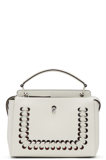 Fendi - White Dotcom Click Bag