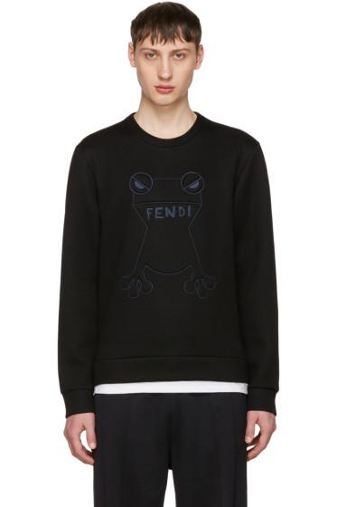 Fendi - Black Frogs Sweatshirt