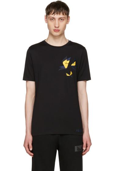 Fendi - Black Butterfleyes T-Shirt