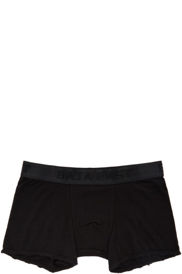 Baja East - Three-Pack Black RLTD Edition Logo Boxer Briefs