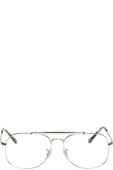 Ray-Ban - Silver Square Icons Glasses