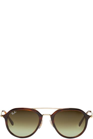 Ray-Ban - Tortoiseshell RB4253 Sunglasses