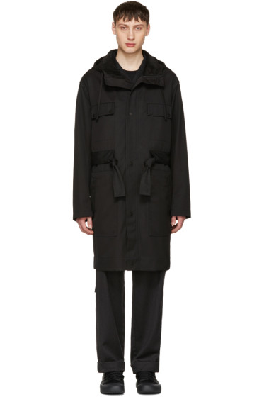 Craig Green - Black Worker Anorak Coat