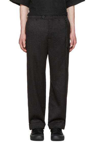 Craig Green - Grey Relaxed Tailored Trousers