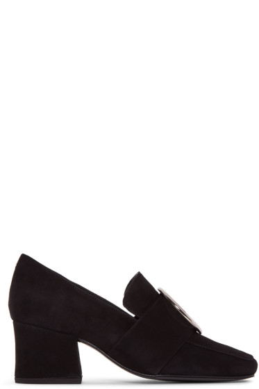 Dorateymur - Black Suede New Turbojet Heels