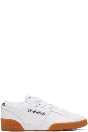 Reebok Classics - White Workout Low Sneakers