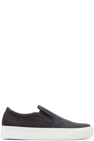 No.288 - Black Houston Slip-On Sneakers