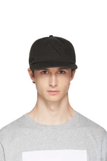 Saturdays NYC - Black Stanley Washed Slash Cap