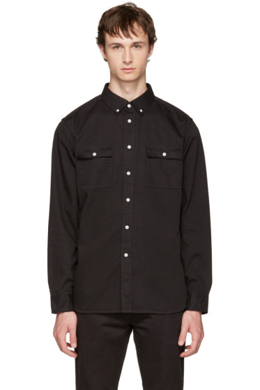 Saturdays NYC - Black Angus Shirt