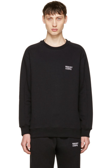 Resort Corps - Black Survetement Sweatshirt