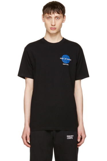 Resort Corps - Black 'Now Or Never' T-Shirt