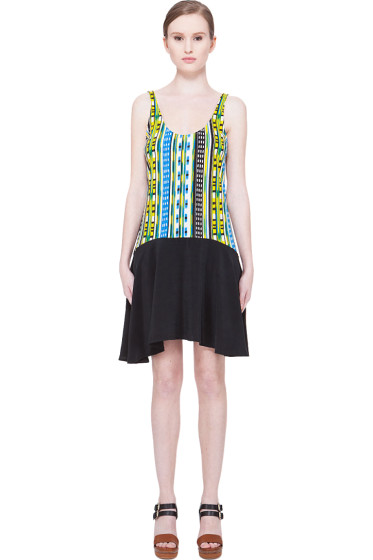 Thakoon Addition - Striped Tank Dress