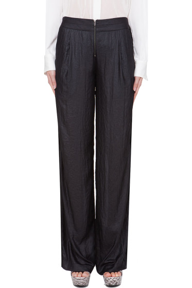Under.Ligne - Black Wide Leg Pants