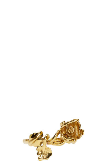 Aurélie Bidermann - Gold Plated Majorelle Gardens Ring