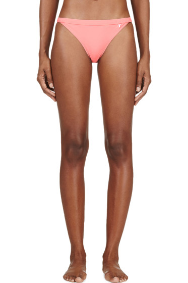 T by Alexander Wang - Coral Pink Bikini Bottom