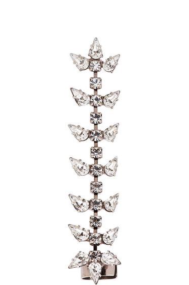 Dannijo - Silver Crystal Gwendolyn Ear Cuff