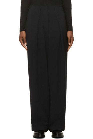 Costume National - Black Wide Leg Trousers