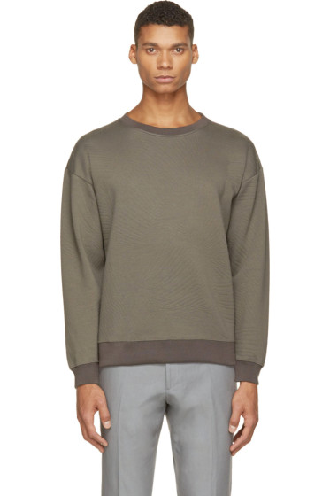 Christopher Kane - Grey Embossed Sweatshirt