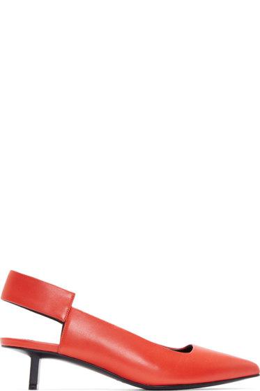 Pierre Hardy - Red Drastic Sling-Back Heels