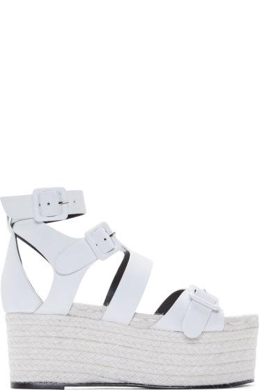 Pierre Hardy - White Casual Platform Sandals