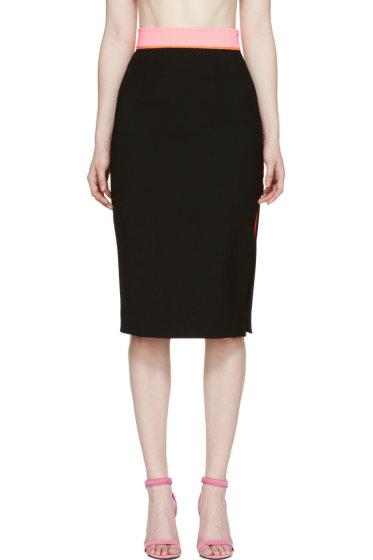 Roksanda - Black Crepe Cawsan Skirt