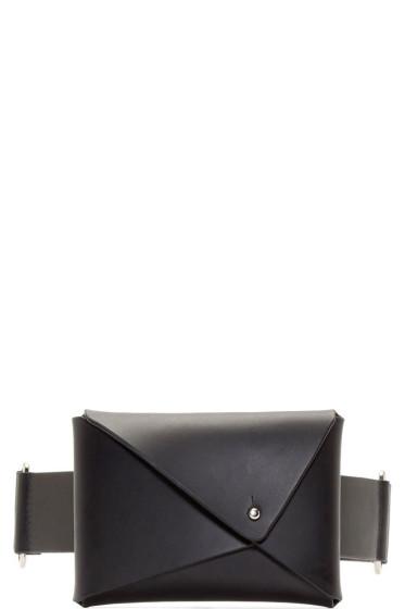 Fleet Ilya - Black Leather Money Belt