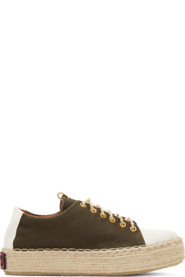 Visvim - Brown Prima Folk Sneakers