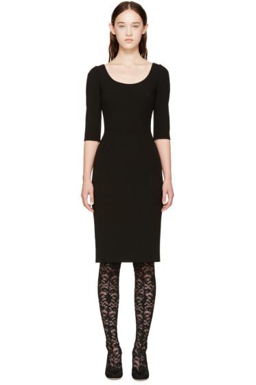 Dolce & Gabbana - Black Fitted Dress