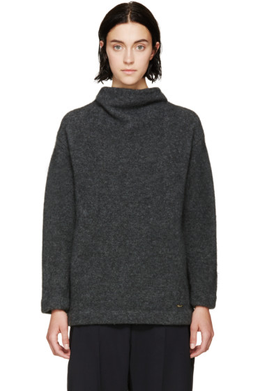 Dsquared2 - Grey Stand Collar Sweater
