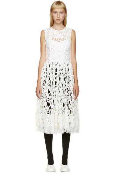Comme des Garçons - White Cut-Out Dress Shell