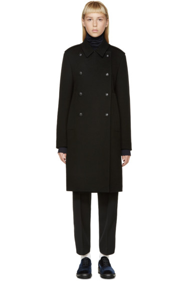 Jil Sander - Black Wool Valencia Coat