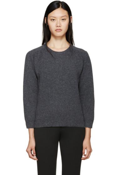 Jil Sander - Grey Crewneck Sweater