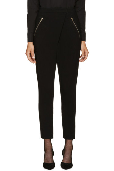 Givenchy - Black Stretch Sarouel Trousers