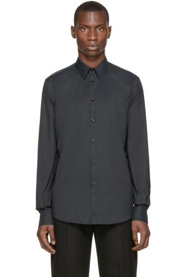 Versace - Black Classic Slim Shirt