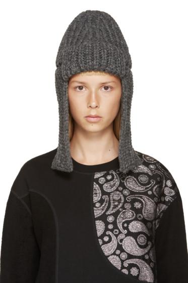 Stella McCartney - Grey Merino Fisherman's Hat
