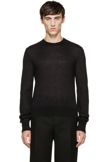 Calvin Klein Collection - Black Mohair Sweater