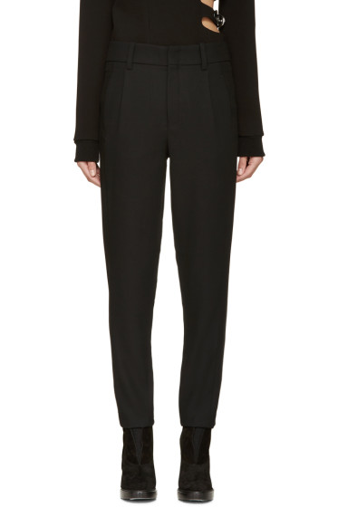 Anthony Vaccarello - Black Classic Trousers