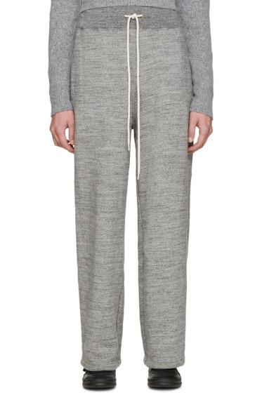 Facetasm - Grey Big Heart Lounge Pants