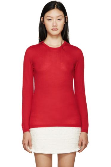 Giambattista Valli - Red Cashmere Sweater