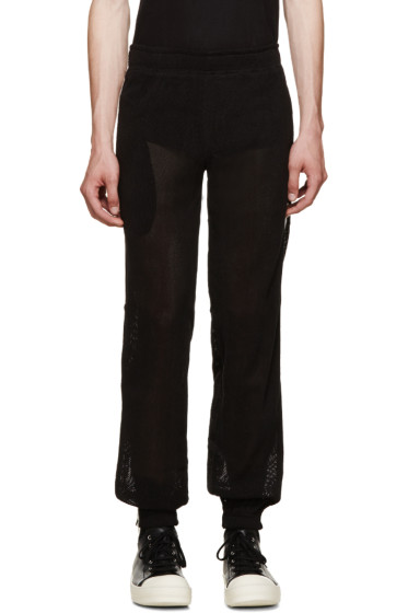 Pigalle - Black Mesh Lounge Pants