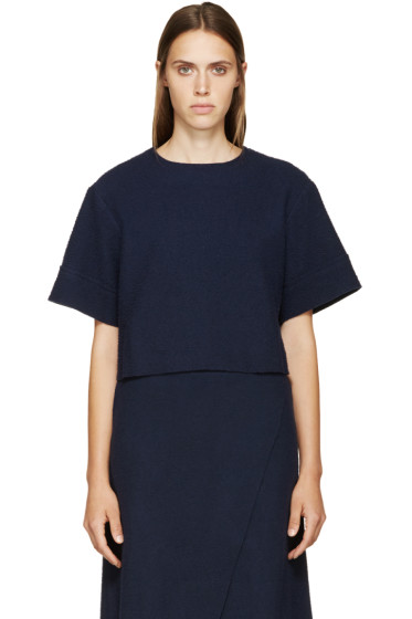 Simon Miller - Navy Wool Cole Top