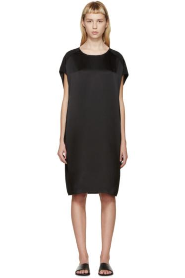 Calvin Klein Collection - Black Silk Fia Dress